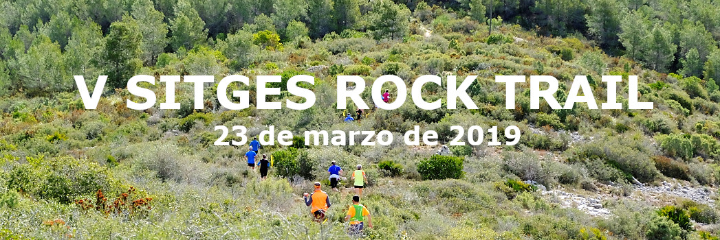 Sitges Rock Trail 2019 - Banner